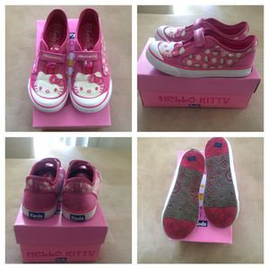 Girls Hello Kitty Keds Silk Size 11 1/2M for Sale in Adelphi, MD