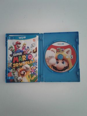 Nintendo wii u super mario 3d world good complete for Sale in Bell Gardens, CA