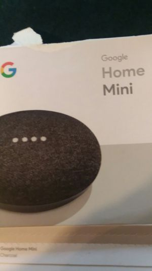 Google Home Mini New with opened box for Sale in Richmond, VA