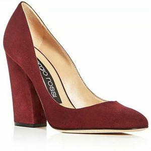 Sergio Rossi Women's Virginia Suede High-Heel Pumps in Bright Red S:10 MSRP $595 for Sale in Philadelphia, PA