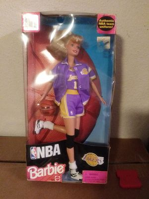NEW OFFICIAL NBA LAKERS BARBIE DOLL for Sale in Los Angeles, CA