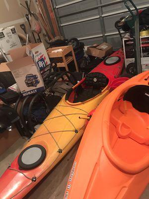 ll bean casco 14.5ft kayak with rudder for Sale in Fredericksburg, VA