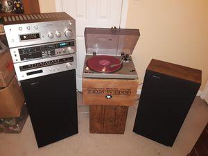 Vintage/Analog Stereo With Turntable & Cassette(Technics/Boston Acoustics) for Sale in Virginia Beach, VA