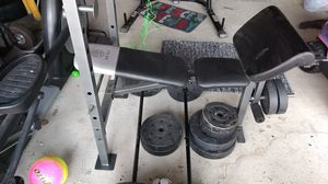 Weight Bench with Weights for Sale in Long Beach, CA