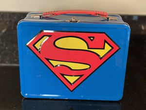 Superman tin lunch box for Sale in Glendale, CA
