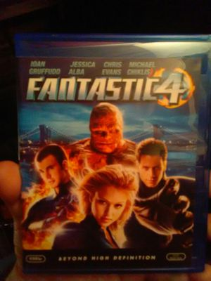 Fantastic Four Blu Ray movie for Sale in Ontario, CA