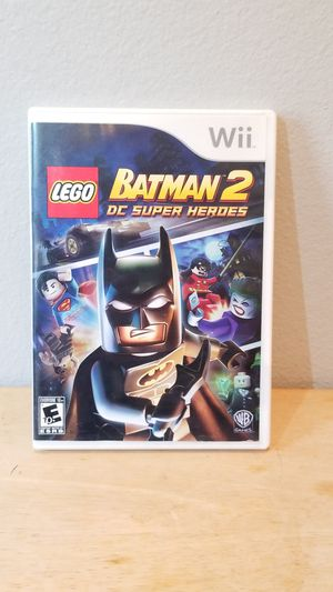 Nintendo Wii Batman 2 DC Super Heroes Complete for Sale in Huntington Beach, CA