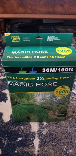 100 ft expandable hose with nozzle for Sale in Gardena, CA