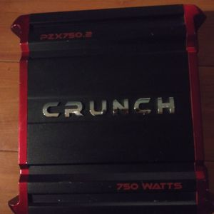 Crunch Amplifier 2ch 750 Watts for Sale in Huntington Park, CA