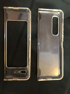 Samsung fold phone case clear for Sale in San Diego, CA