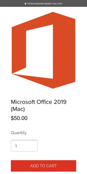 Microsoft Office 2019 for Mac for Sale in New York, NY