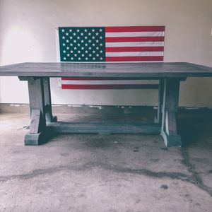 Revival Designs - Weathered Grey Farmhouse Table for Sale in Normal, IL