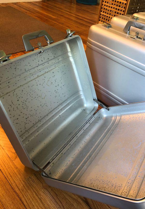 Haliburton Zero Centurion Elite industrial aluminum hard cases