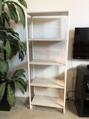 2 white tall bookshelves for Sale in Austin, TX