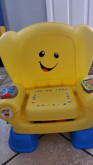 Laugh and learn toddler chair for Sale in Port Richey, FL