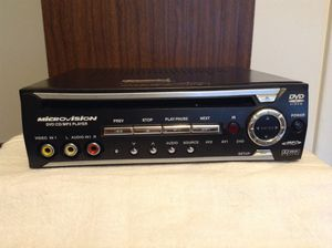 MicroVision DVD/CD/MP3 Player for Sale in Sandy, UT