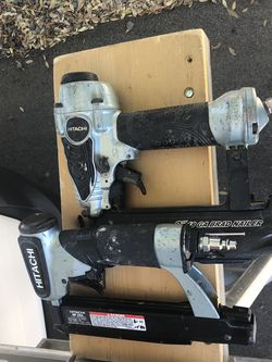 Hitachi Nail Guns 18 Ga. & 22 Ga. for Sale in Temecula,  CA