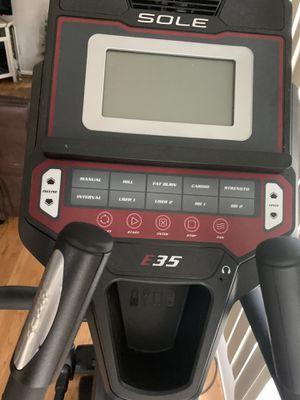 Sole elliptical E35 model for Sale in Boston, MA