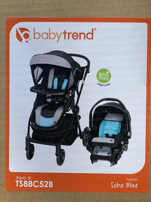 New! Baby Trend City Clicker Pro Travel System (Pick up 95828) for Sale in Sacramento, CA