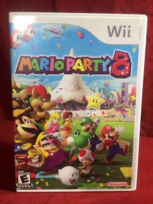 Mario party 8 Wii game for Sale in Asheboro, NC