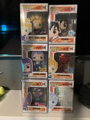 Dragon ball Z Funko pops for Sale in Surprise, AZ