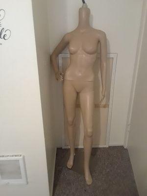 Plastic beige mannequin for Sale in San Luis Obispo, CA