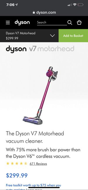 Dyson v7 Motorhead vacuum for Sale in Ceres, CA