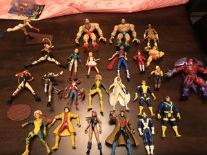 MARVEL VS CAPCOM ACTION FIGURES LOT* for Sale in Fresno, CA