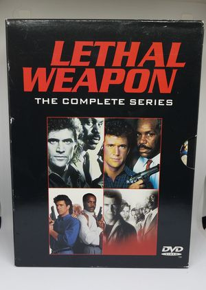 Lethal Weapon 4 DVD complete set for Sale in Wichita, KS