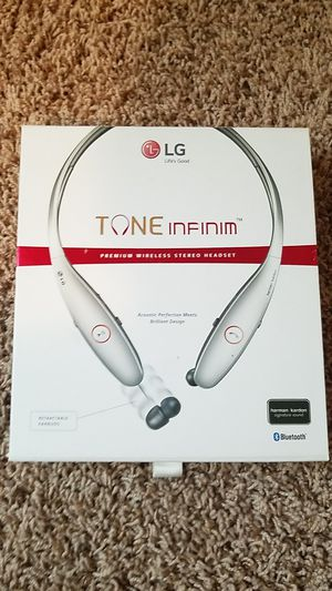 LG Tone Infinim headset for Sale in Bakersfield, CA