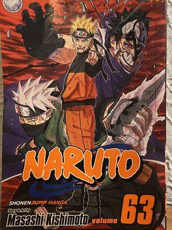 NARUTO MANGA - Vol. 63 for Sale in DeLand,  FL