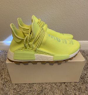 """ADIDAS PHARRELL NMD HUMAN RACE """"KNOW SOUL"""" SIZE 9 for Sale in San Antonio, TX"""
