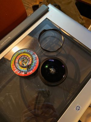 Opteka 37mm fisheye lens for Sale in Lee's Summit, MO