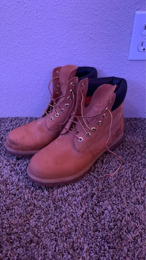 Timberland Work Boots Size 8 1/2 Men's for Sale in Spanaway, WA