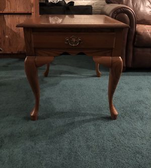 Coffee and end tables solid oak for Sale in VA, US
