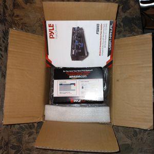 Pyle Wireless Bluetooth streaming Power Amplifier for Sale in Kelso, WA