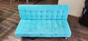 DHP Ariana Kids Sofa Futon, Converts from Futon to Bed for Kids, Teal for Sale in Carlsbad, CA