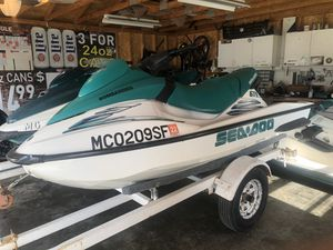 2001 Seadoo GTS (Clean Title/No Trailer) for Sale in Roseville, MI