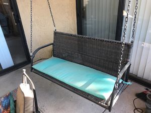 Porch swing and pad for Sale in Chandler, AZ