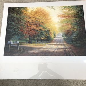 Autumn Print Signed By Charles White for Sale in Pleasanton, CA