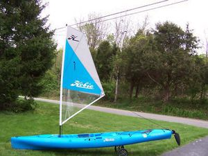 Hobie outback kayak sail kit for Sale in Montebello, CA