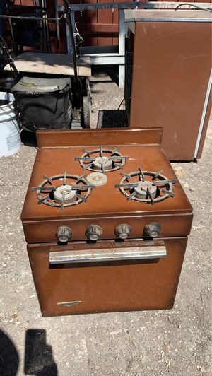 Vintage holiday camper stove for Sale in Stockton, CA