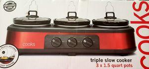 Triple Slow Cooker for Sale in Carol City, FL