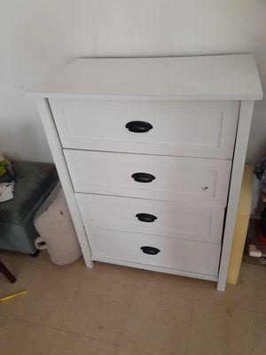 White dresser for Sale in Fresno, CA
