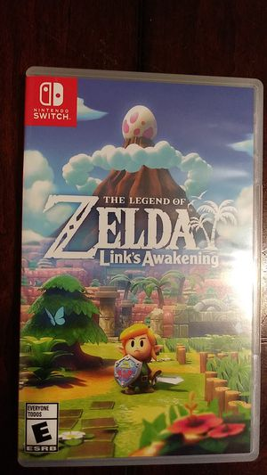 ZELDA LINK'S AWAKENING NINTENDO SWITCH for Sale in Fort Worth, TX