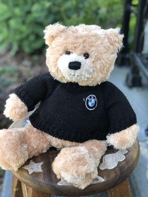 BMW bear teddy plush sweater for Sale in Grove City, OH