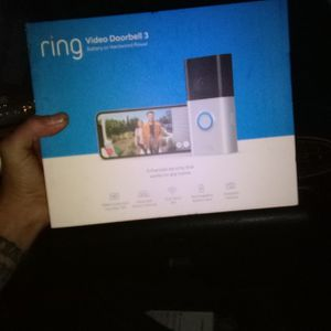 Ring Doorbell 3 for Sale in Wheat Ridge, CO