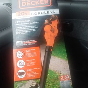 Brand New Still In The Box 20v Lithium Cordless Sweeper for Sale in Portland, OR