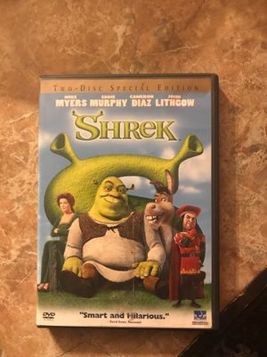 Mike Myers and Eddie Murphy production of the classic film Shrek for Sale in San Diego, CA