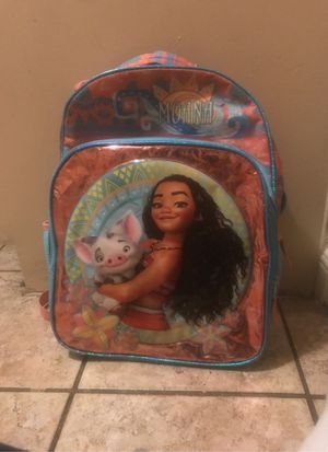 Back pack of moana for Sale in Highland, CA